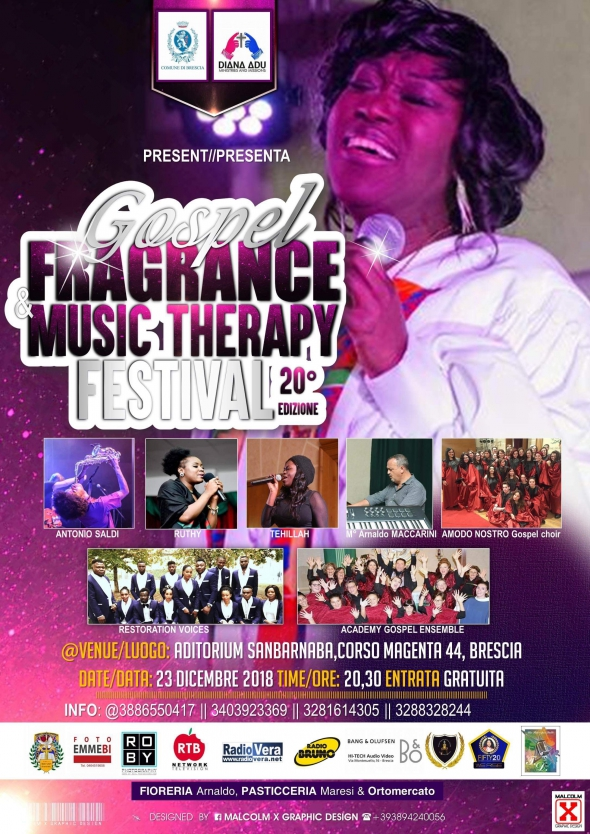 IL 20* GOSPEL FRAGRANCE AND MUSIC THERAPY FESTIVAL